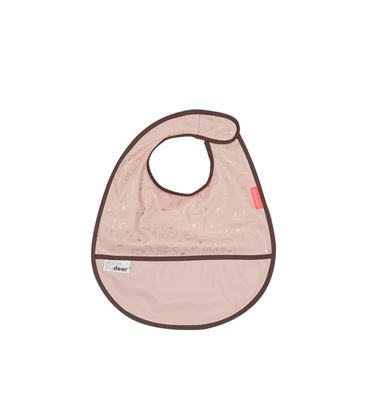 BABERO CON VELCRO BOLSILLO GOLD/POWDER - 13741
