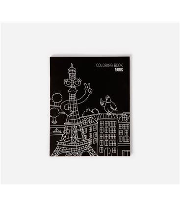 OMY COLORING NOTEBOOKS PARIS 12X15X0.6 - LETTERS-CARNET-A-COLORIER (2)