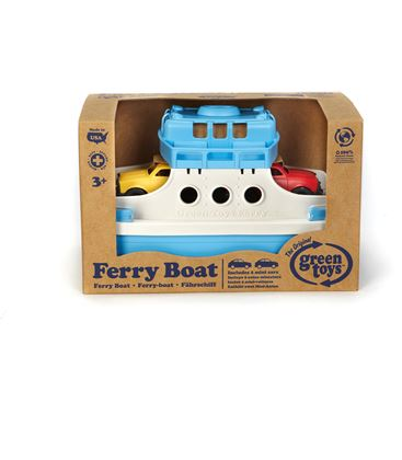 FERRY CON MINICOCHES GREENTOYS - FERRY-BOAT-GREENTOYS