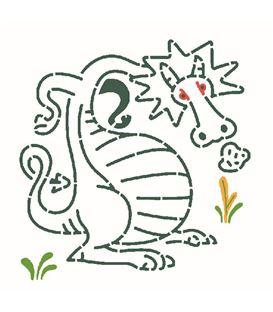 PLANTILLAS SILUETAS DRAGONES - PLANTILLAS-PARA-DIBUJAR-DRAGONES(1)