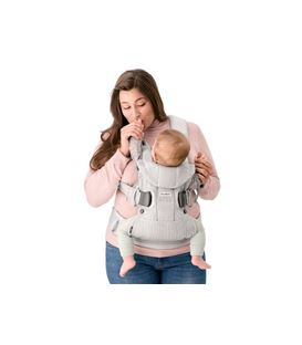 MOCHILA PORTABEBE BABYBJORN ONE AIR AZUL MARINO MESH 2018 - BABY-CARRIER-ONE-AIR-2018-FRONT-INSIDE