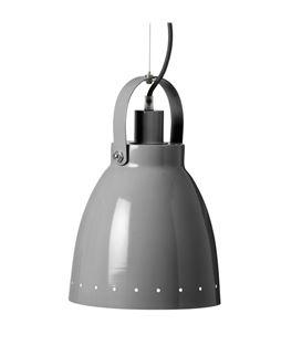 LAMPARA DE TECHO DE METAL GRIS - 60675