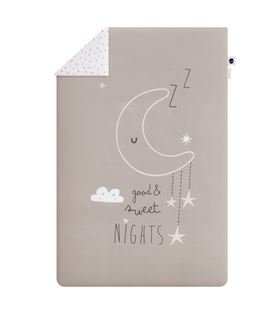 FUNDA NÓRDICA + RELLENO MINICUNA SWEET NIGHTS ROSA
