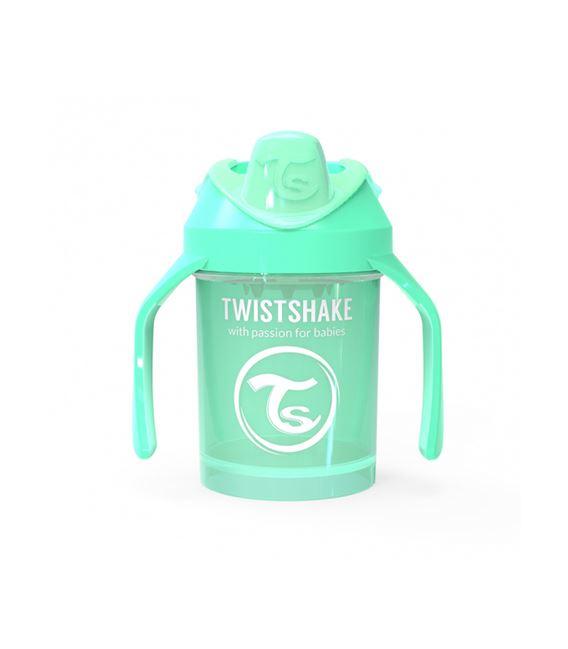 TWISTSHAKE MINI CUP 230ML 4+ PASTEL VERDE - MINICUP-VERDEPASTEL