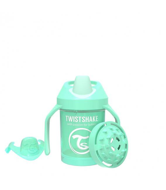TWISTSHAKE MINI CUP 230ML 4+ PASTEL VERDE - 1517