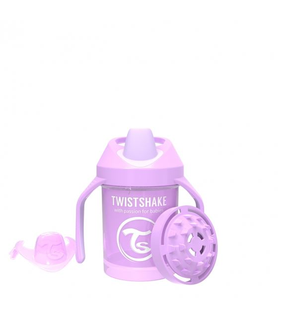 TWISTSHAKE MINI CUP 230ML 4+ PASTEL MORADO - 1519
