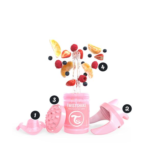 TWISTSHAKE MINI CUP 230ML 4+ PASTEL MORADO - 151412