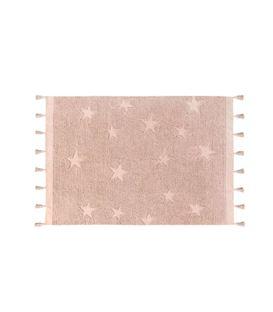 ALFOMBRA HIPPY STARS VINTAGE NUDE - ALFOMBRA-HIPPY-STARS-ROSA-NUDE