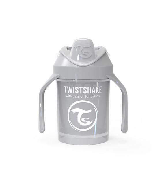 TWISTSHAKE MINI CUP 230ML 4+ PASTEL GRIS - MINICUP-GRISPASTEL