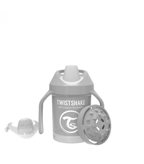 TWISTSHAKE MINI CUP 230ML 4+ PASTEL GRIS - 1523