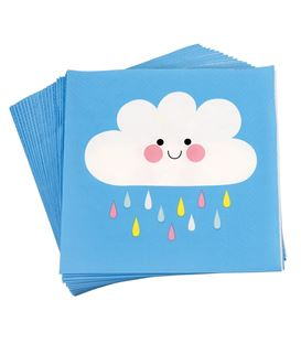 PACK 20 SERVILLETAS HAPPY CLOUD - PACK-20-SERVILLETAS-HAPPY-CLOUD