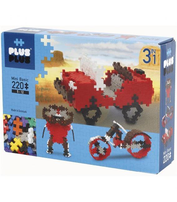 PLUS PLUS 220pcs BASIC 3 EN 1 - 01205