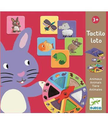 TACTILO LOTO ANIMALES - TACTILOLOTODJECO