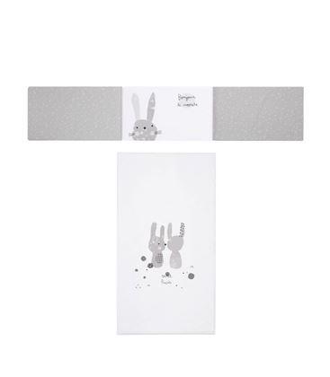 COLCHA+PROTECTOR 60x120 SNOOPS GRIS - PRAIANORDICAPROTSNOOPS