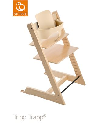 TRONA TRIPP TRAPP NATURAL CON BABYSET - TTNAT