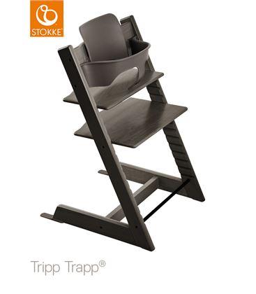 TRONA TRIPP TRAPP HAZY GREY CON BABYSET - TTBRUMA