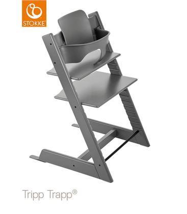 TRONA TRIPP TRAPP STORM GREY CON BABYSET - TTGRISTOR