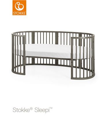 EXTENSION CUNA A CAMA JUNIOR STOKKE SLEEPI GRIS BRUMA - JUNIORSLEEPIGRISBRUA