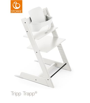 TRONA TRIPP TRAPP BLANCA CON BABYSET - TRIPPTRAPPBLANCABABY