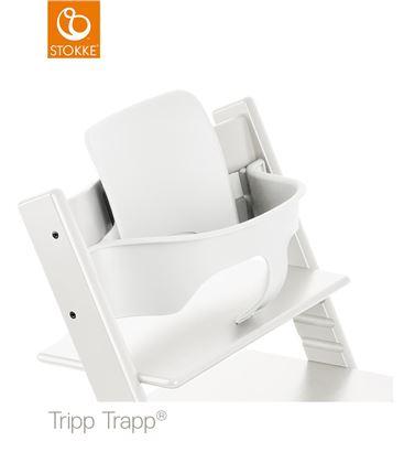 TRONA TRIPP TRAPP BLANCA CON BABYSET - BABYSETTRIPTRAPPBLANCO
