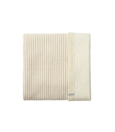 MANTA ESSENTIALS RIBBED OFF-WHITE - JOOLZ_ESSENTIALS_BLANKET_RIBBED_OFFWHITE-1
