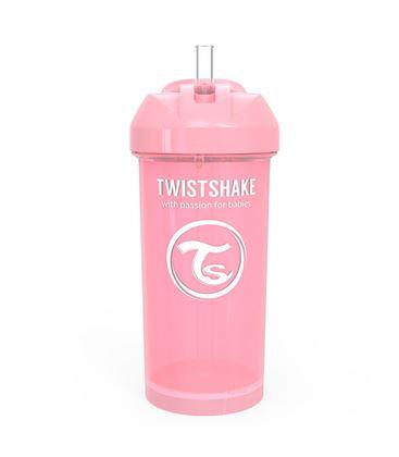 TWISTSHAKE STRAW CUP 360ML 12+ PASTEL ROSA - 2012A