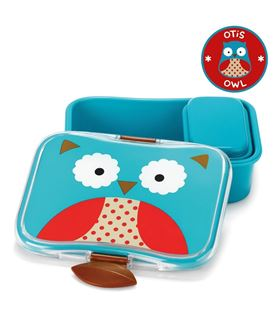 FIAMBRERA SKIP HOP ZOO BÚHO - SKIPHOP-ZOO-KIDS-LUNCH-KIT-OWL_3