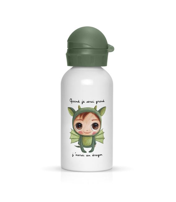 CANTIMPLORA METAL 400ML DRAGÓN - DRAGONBOTELLA