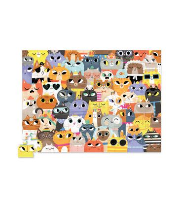 PUZZLE 72PC LOTS OF CATS - GATOSPUZZLE1