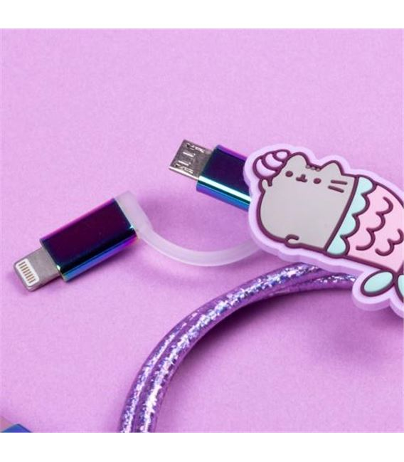 CABLE USB GATITOS SIRENA - PUSHUSBME2