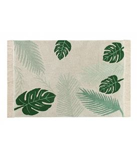 ALFOMBRA LAVABLE TROPICAL VERDE - TROPICAL-GREEN
