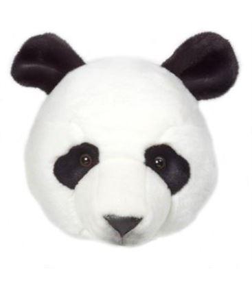 CABEZA DE PELUCHE PANDA THOMAS - -PELUCHE-CABEZA-PANDA