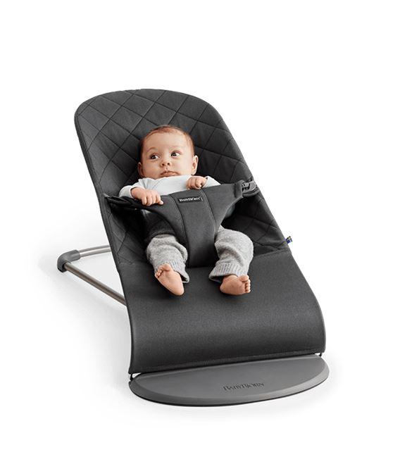HAMACA BLISS ALGODON ANTRACITA - BOUNCER-BLISS-BABY-NEWBORN-REST-BABYBJORN-MIN