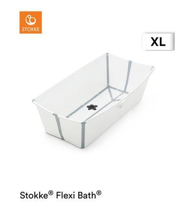 BAÑERA PLEGABLE FLEXI BATH XL BLANCA GRIS - FLEXIBATHGRISXL