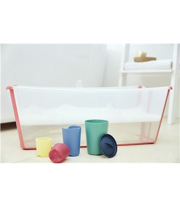 TOY CUPS MULTICOLOR FLEXI BATH STOKKE - TOYCUP-FLEXIBATH4