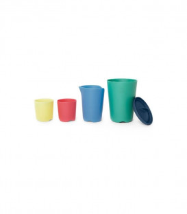 TOY CUPS MULTICOLOR FLEXI BATH STOKKE