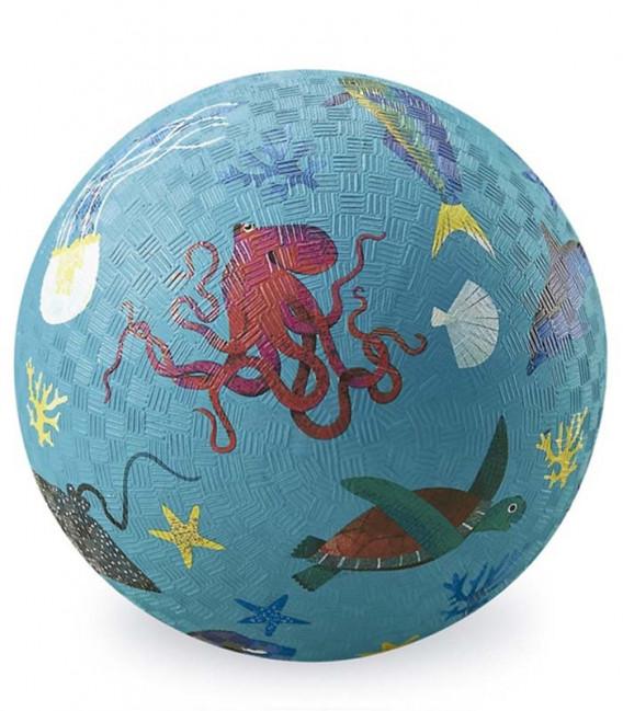 PELOTA 18CM SEA ANIMALS