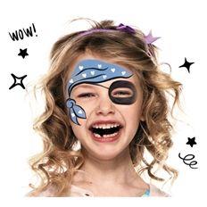maquillaje infantil piratas