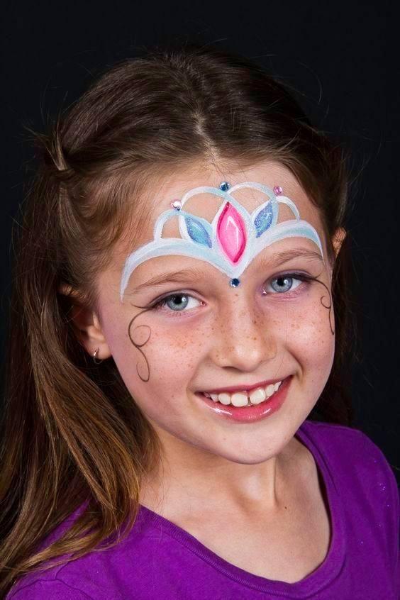 maquillaje infantil princesa