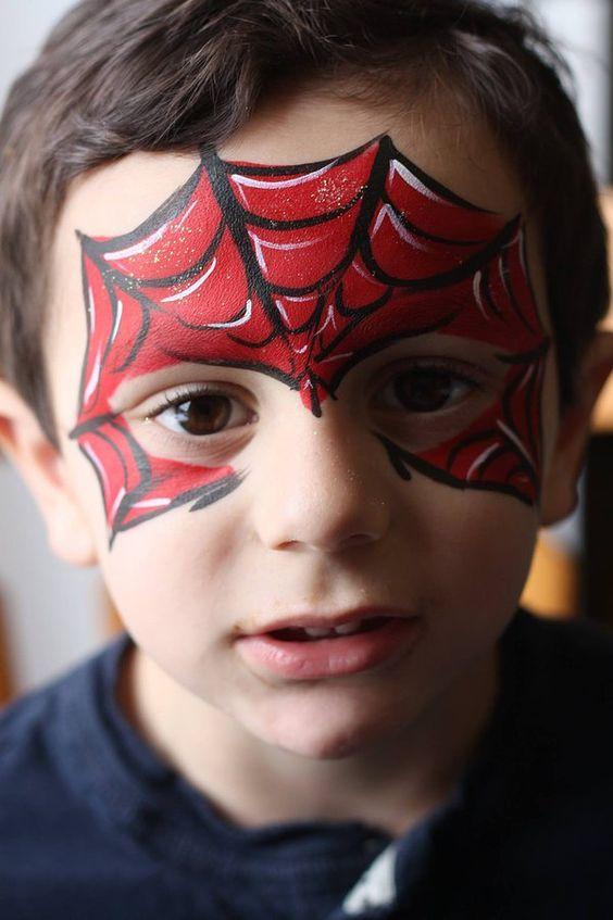 maquillaje-infantil-spiderman