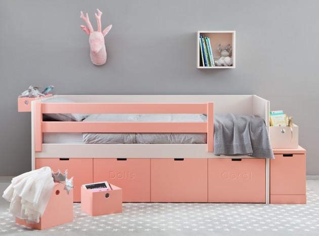 cama juvenil almacenaje