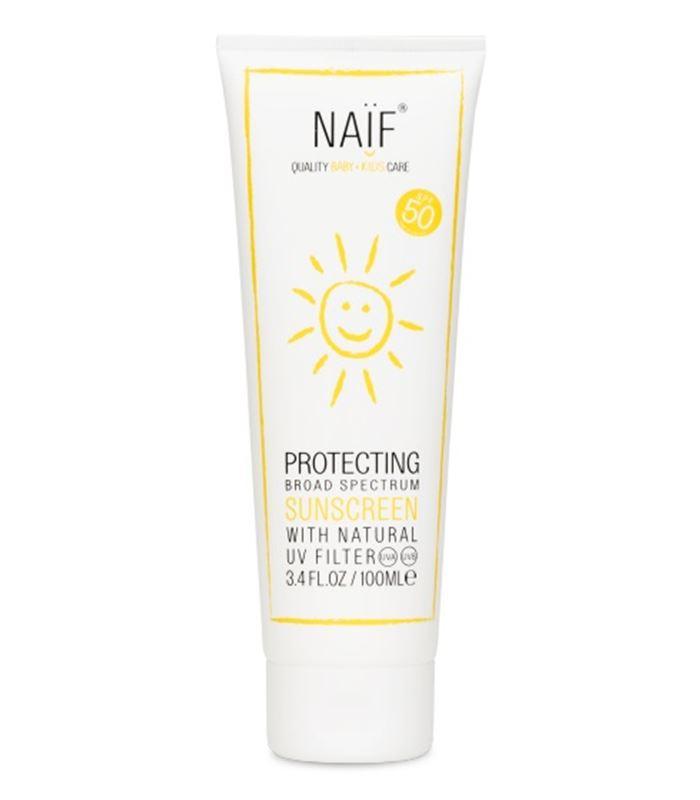 Crema solar para niños y bebés