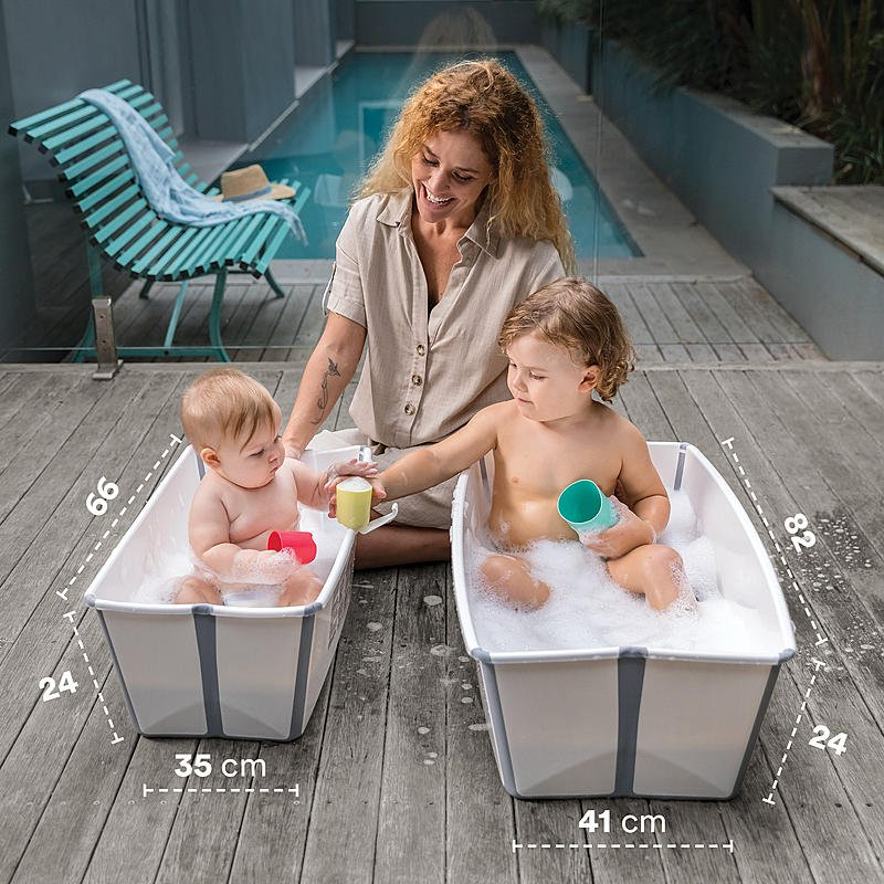 bañeras plegables flexi bath stokke
