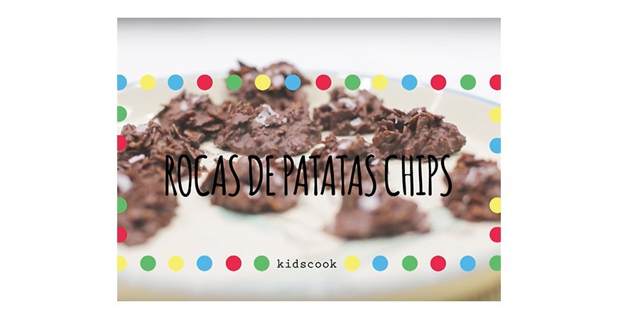 Video-receta rocas de patatas chip